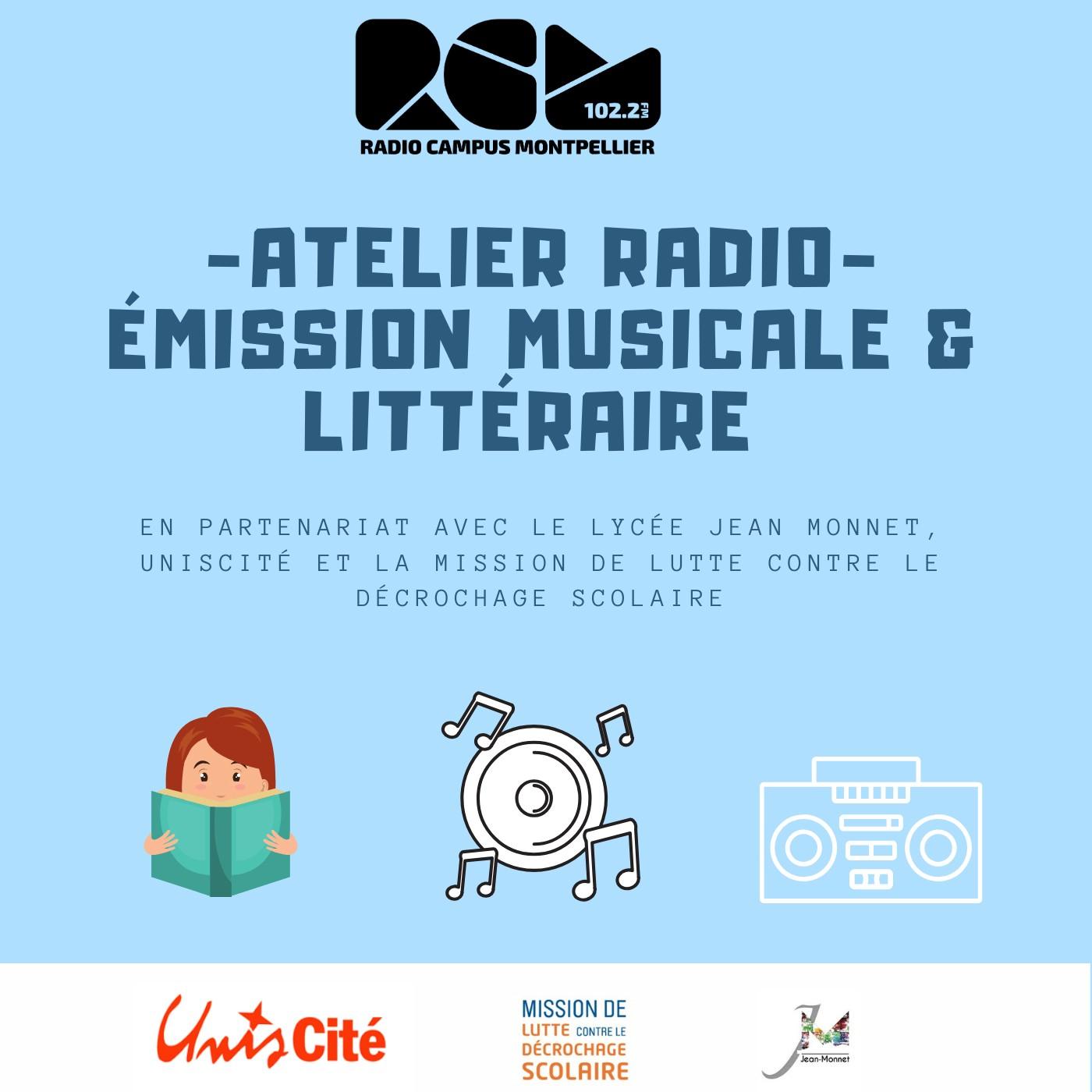 Emission musicale et littéraire – Lycée Jean Monnet