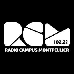 Logo RCM Blanc sur Fond Noir