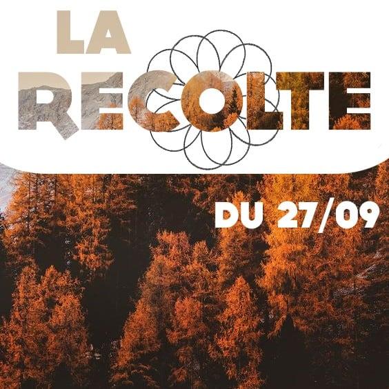 la Récolte du 27 septembre, une émission Radio Campus Montpellier