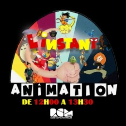Logo de L'Instant Animation, une émission Radio Campus Montpellier
