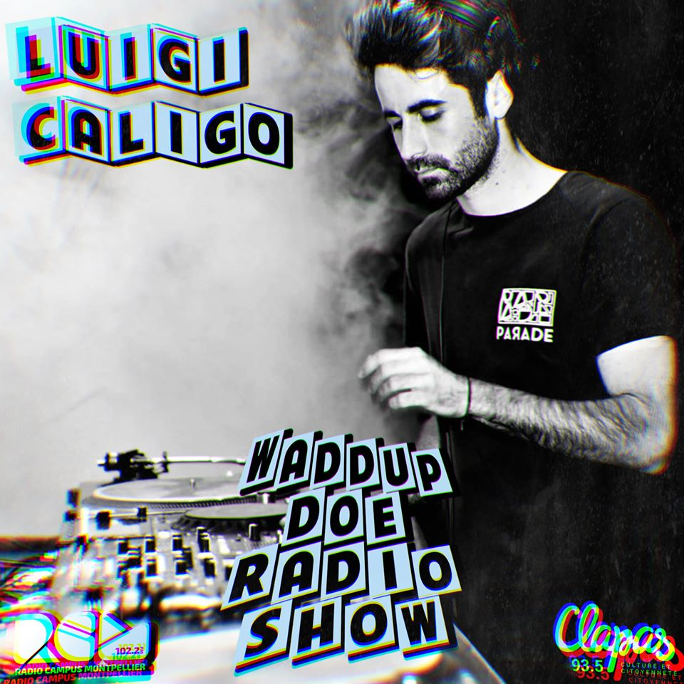 Luigi Caligo - Radio Campus Montpellier