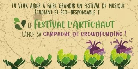 Campagne de crowdfunding du festival l'Artichaut