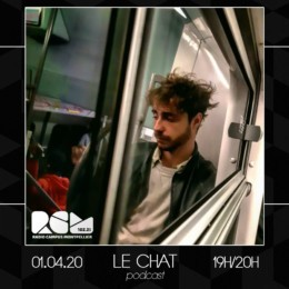 Le Chat dj set Radio Campus Montpellier