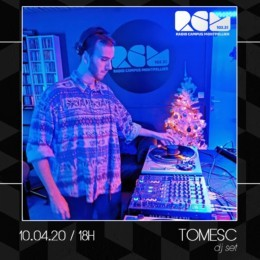 Tomesc dj set Radio Campus Montpellier