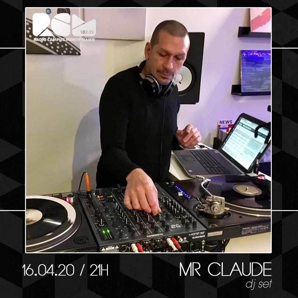 Mr Claude dj set Radio Campus Montpellier