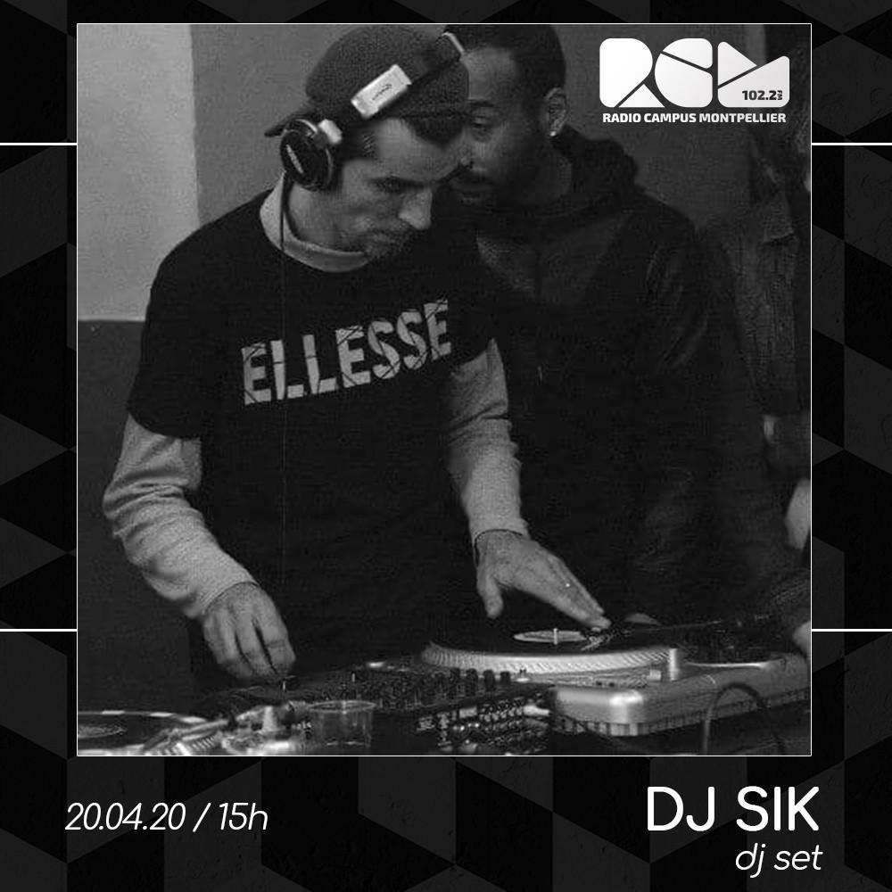 DJ Sik Radio Campus Montpellier
