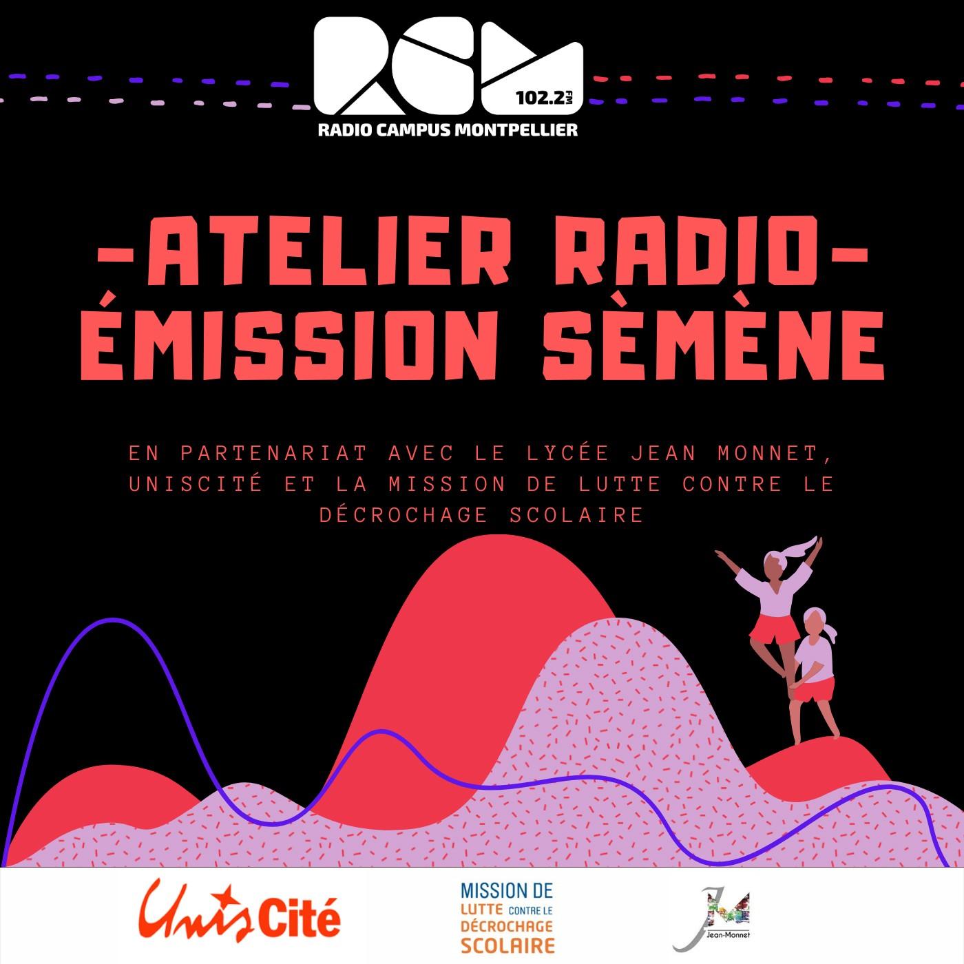 Atelier radio Émission Sémene