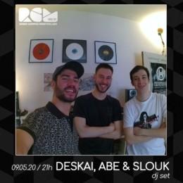 Deskai Abe Slouk Radio Campus Montpellier