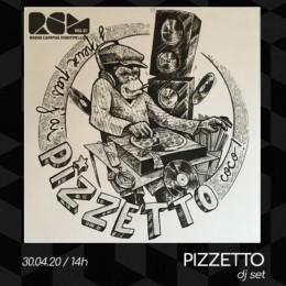 Pizzetto DJ set Radio Campus Montpellier