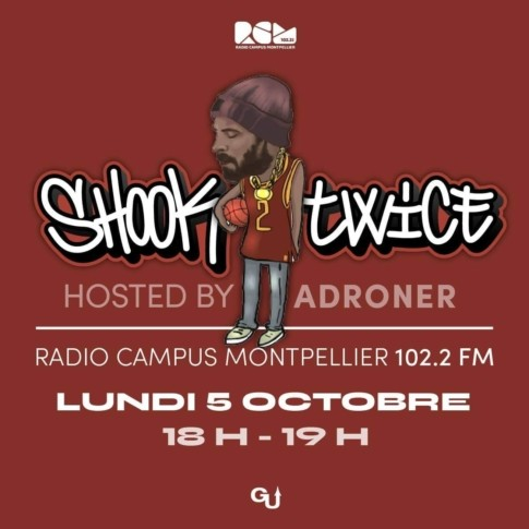 Shook Twice 01 Radio Campus Montpellier