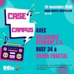Case Campus Radio CAmpus Montpellier