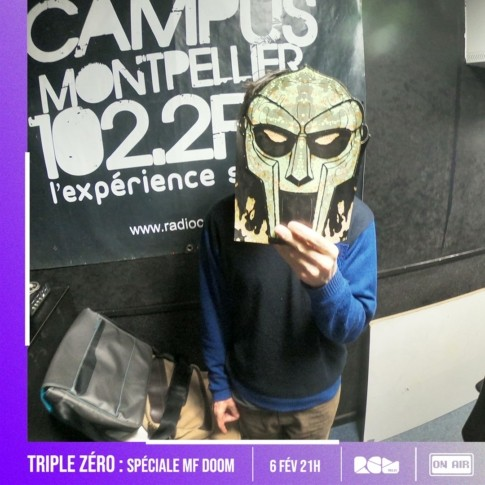 MF DOOM Triple Zero Radio Campus Montpellier