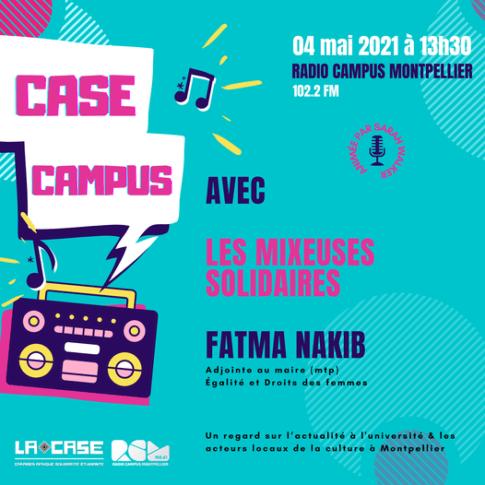 case campus les mixeuses solidaires fatma nakib radio campus montpellier